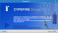 CYPEFIRE Design. Installations de protection contre les incendies.
